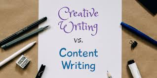 For the Last Time: 'Creative Writing' and 'Content Writing' Are Different    by Shivasankari Bhuvaneswaran (ShiBhu)   The Writing Cooperative